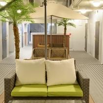 【ホテル内施設】3階喫煙スペース