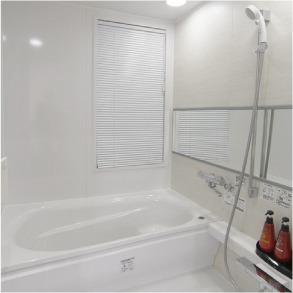 デラックスルームのお風呂はマイクロバブルトルネード導入