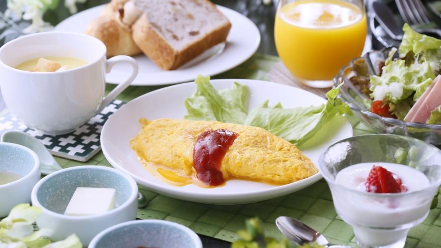 連泊利用時の2日目朝食~洋食~