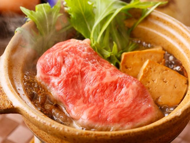 高千穂牛のすき焼き