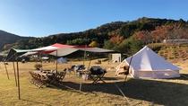 【グランプバーベキュー】豊かな恵みが育んだ「和歌山の食材」を大自然の中でお楽しみください。