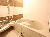 和洋室Dタイプのお風呂。ゆったりおくつろぎ頂けます。