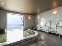 【大浴場(男湯)】最上階(5階)天然温泉