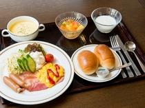 【朝食】(洋食)