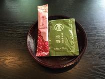緑茶Tパック、梅昆布茶