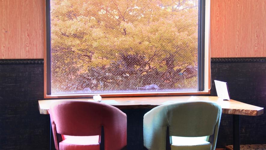 【レストラン】箱根の四季を感じながら夕食を