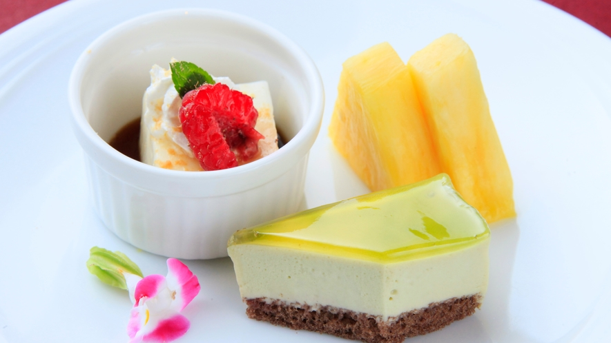 【水菓子】季節のデザート(一例)