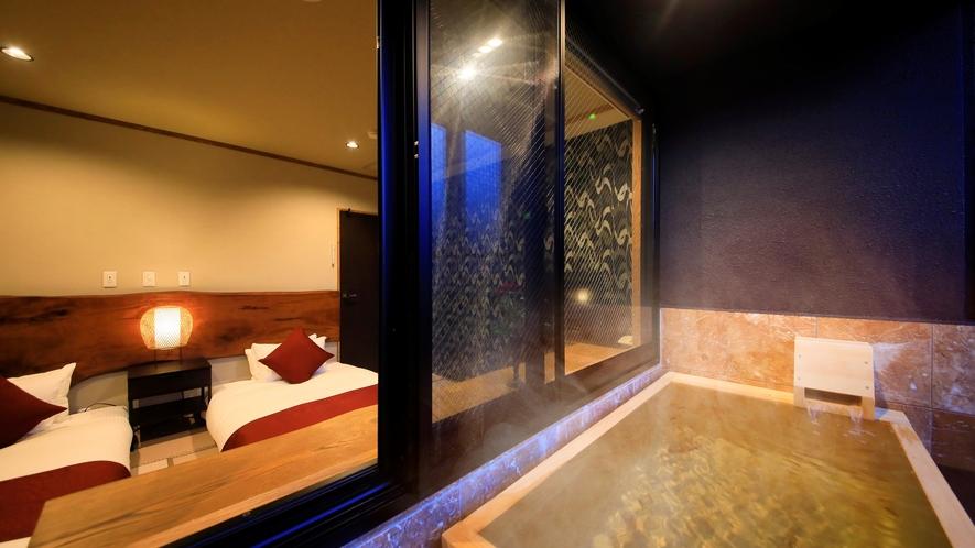 ◆露天風呂付パノラマツイン