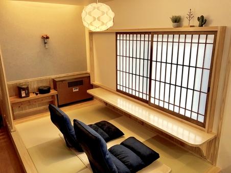 【★新館】露天檜風呂付♪和洋室+寝室+マッサージチェアルーム