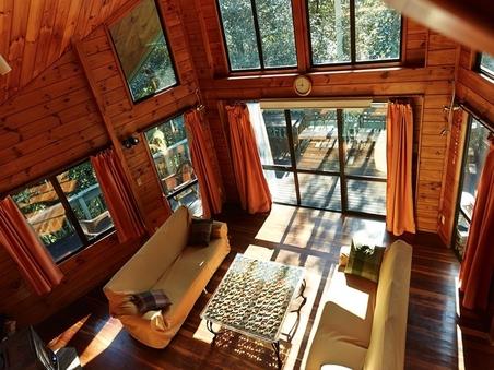 森のロックウッド広々一戸建て「スタジオヒルトップ」1棟貸し