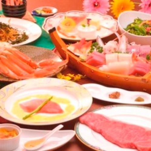 【夕食】スタンダードコースの全料理