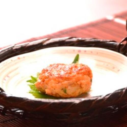 【夕食】前菜の前の先付