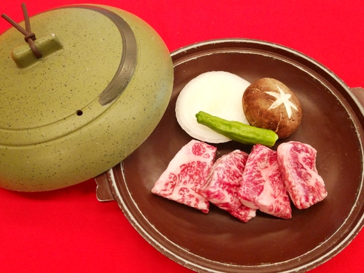 【ちょっと贅沢】信州牛のステーキ付バイキングプラン Wi-Fi客室対応♪(和室6畳を除く)
