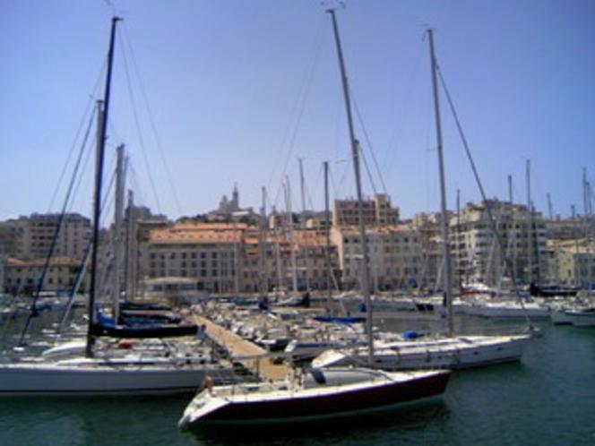 マルセイユ旧港