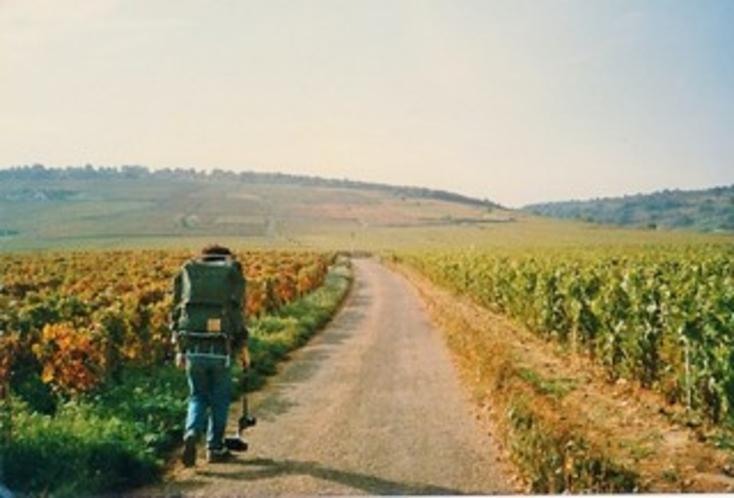 シャンベルタン畑からパリへ