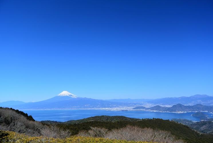 ダルマ山 レストハウスからの 富士山 2017年2月21日