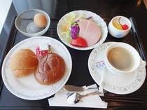 【朝食】:洋食例3♪