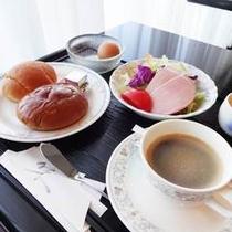 【朝食】:洋食例2♪