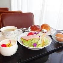 【朝食】:洋食例1♪