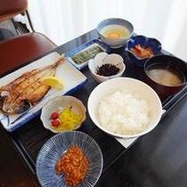 【朝食】:和食例1♪
