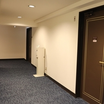 ≪牛久シティホテルアネックス≫3F エレベーター前