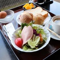洋朝食 朝はパン派の方へ♪
