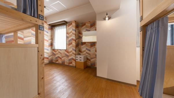 ドミトリールーム(4人部屋)