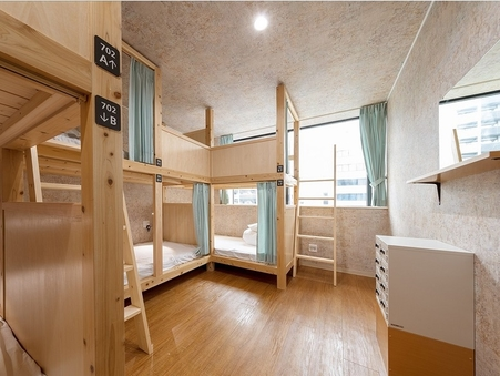 ドミトリールーム(6人部屋)