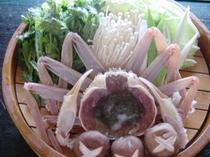 蟹なべセット