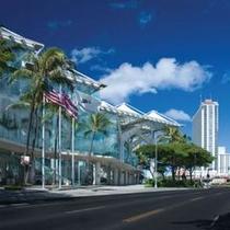 ハワイコンベンションセンターから徒歩2分