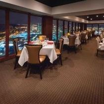 ホテル最上階「ザ・シグネチャープライムステーキ&シーフード」は美しい景色も自慢