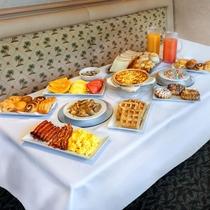 ■プランテーションカフェ 朝食ブッフェの様子