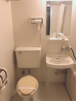 白ソファ部屋バスルーム②