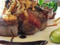 岩手産黒毛和牛ステーキ(例)