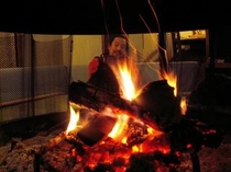 暖炉(冬)