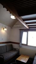 屋根裏風のお部屋~バストイレ付