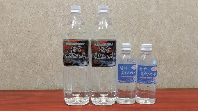 【朝食付】温泉水で炊いた福井米「コシヒカリ」の和朝食付プラン