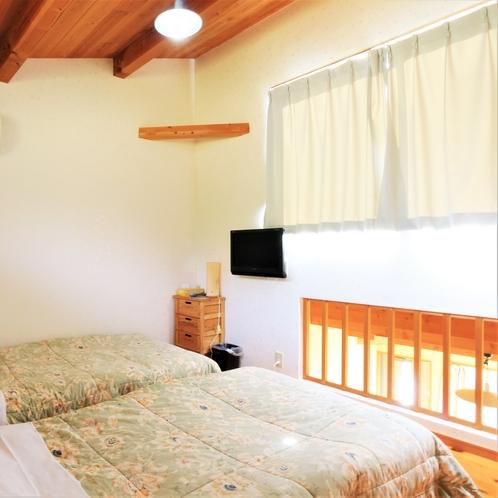 【別館離れ】ロフト寝室(2ベッド)