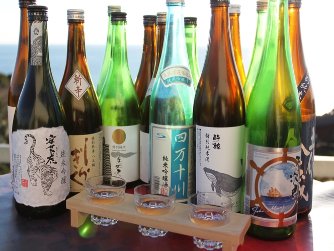 高知の地酒3種飲み比べセット
