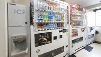 製氷機・自動販売機♪