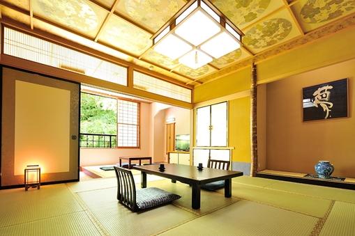 準特別室【夢の間】和室12.5畳+掘りごたつ+檜風呂【禁煙】