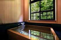 『夢の間』檜風呂(温泉ではありません)