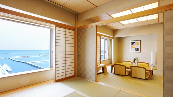 和室スイート【6畳+8畳】<海側>【7階】