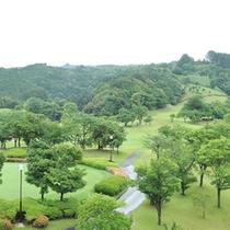 *【八女城陽ゴルフ倶楽部】奥八女の丘陵地に造られた変化に富む全18ホールのコース
