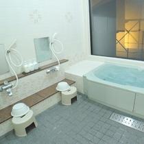 *【客室風呂一例】浴室・洗面とトイレは独立しております