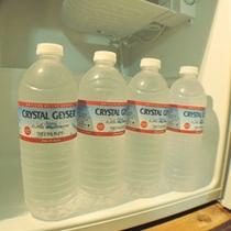 *【客室冷蔵庫】庫内のミネラルウォーターは無料サービスです