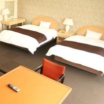 【スタンダード客室一例】加湿器を完備。快適な空間造りに配慮しております