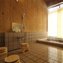 癒しの檜風呂