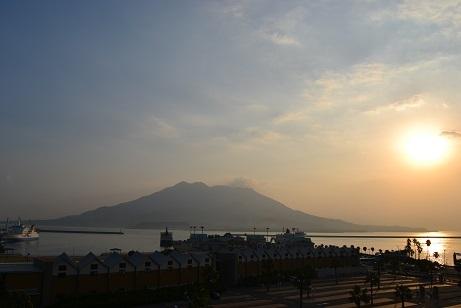 桜島の景色