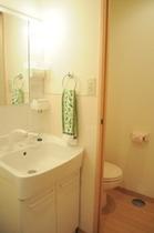 洗面所とトイレ